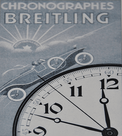 Anuncio reloj Breitling