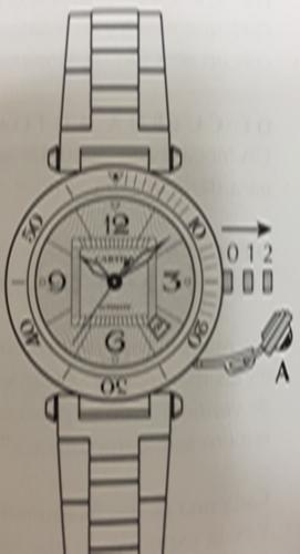 Reloj Pash de Cartier